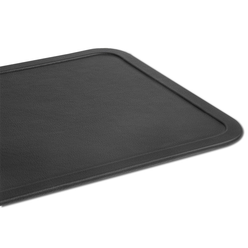Black Classic Embossed Deskpad