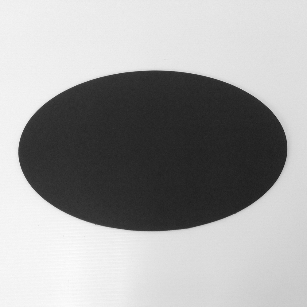 Oval Linoleum Conference Pad Environmentally Friendly