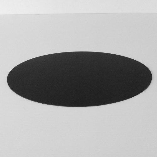 Oval Linoleum Desk Pad