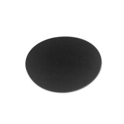 black-linoleum-round-coster