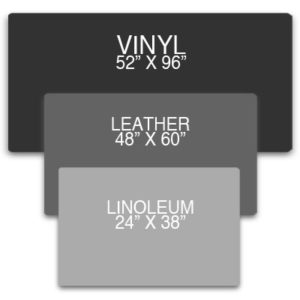 Custom Desk Pad Sizes