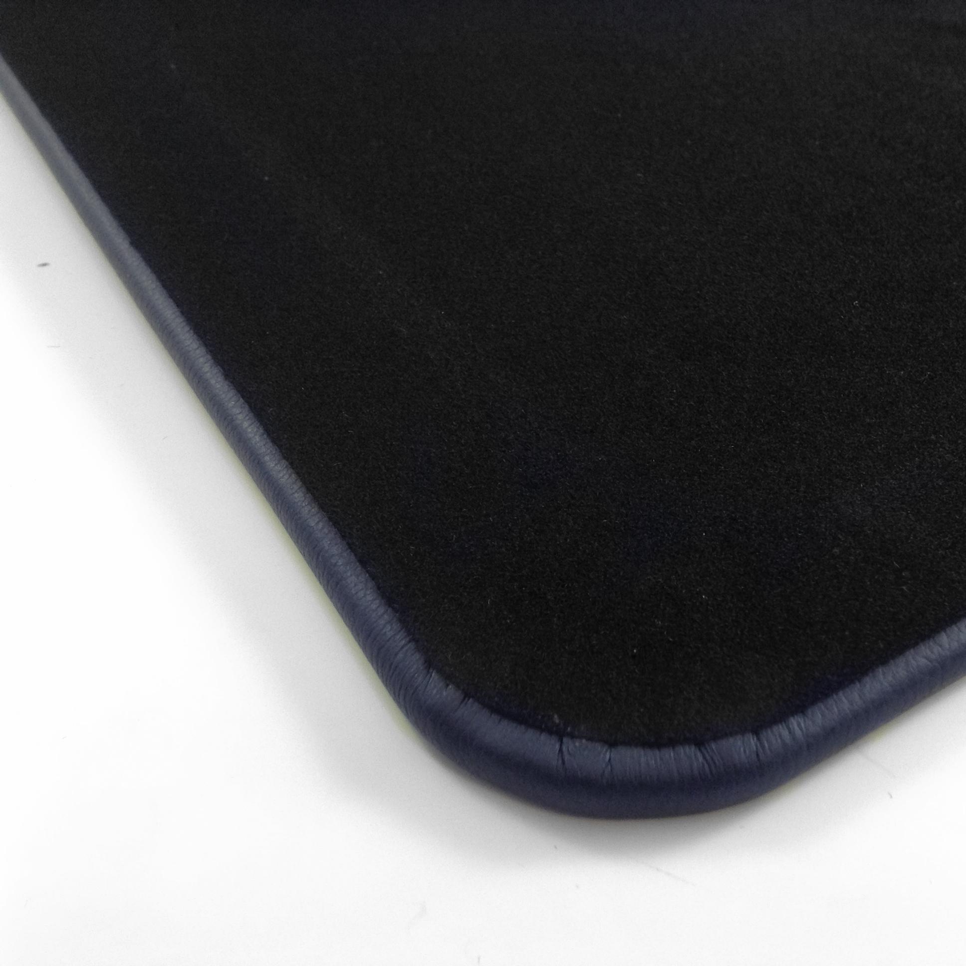 Blue Leather Desk Blotter Pad