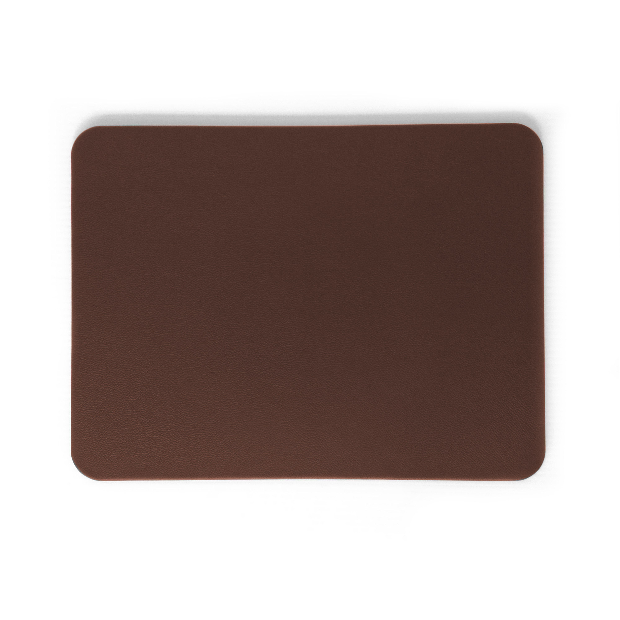 Chestnut Brown Leather Desk Blotter Pad Prestige Office