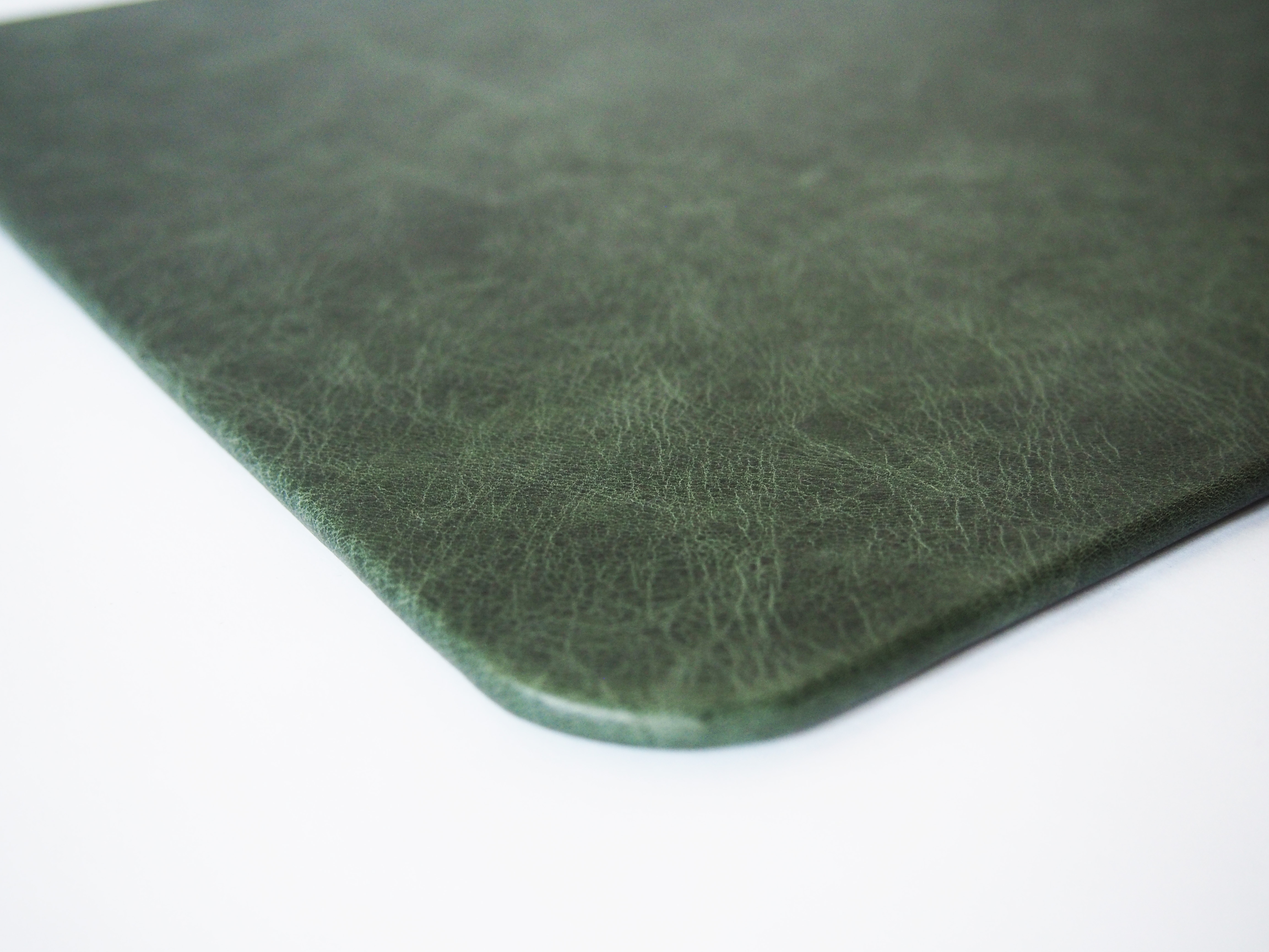 Green Vintage Desk Pad Distressed Mat For An Antiqued