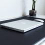Black Leather Desk Pad