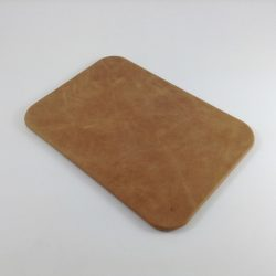 Pecan Antiqued Leather Desk Pad