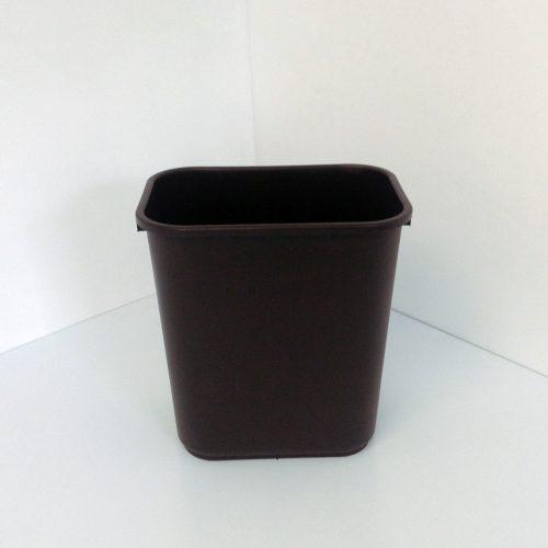 Brown Plastic Recycling Bin