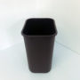 Brown Plastic Recycling Bin