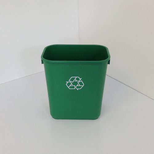 Small Green Recycling Bin
