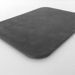 Dark Grey Desk Pad Side