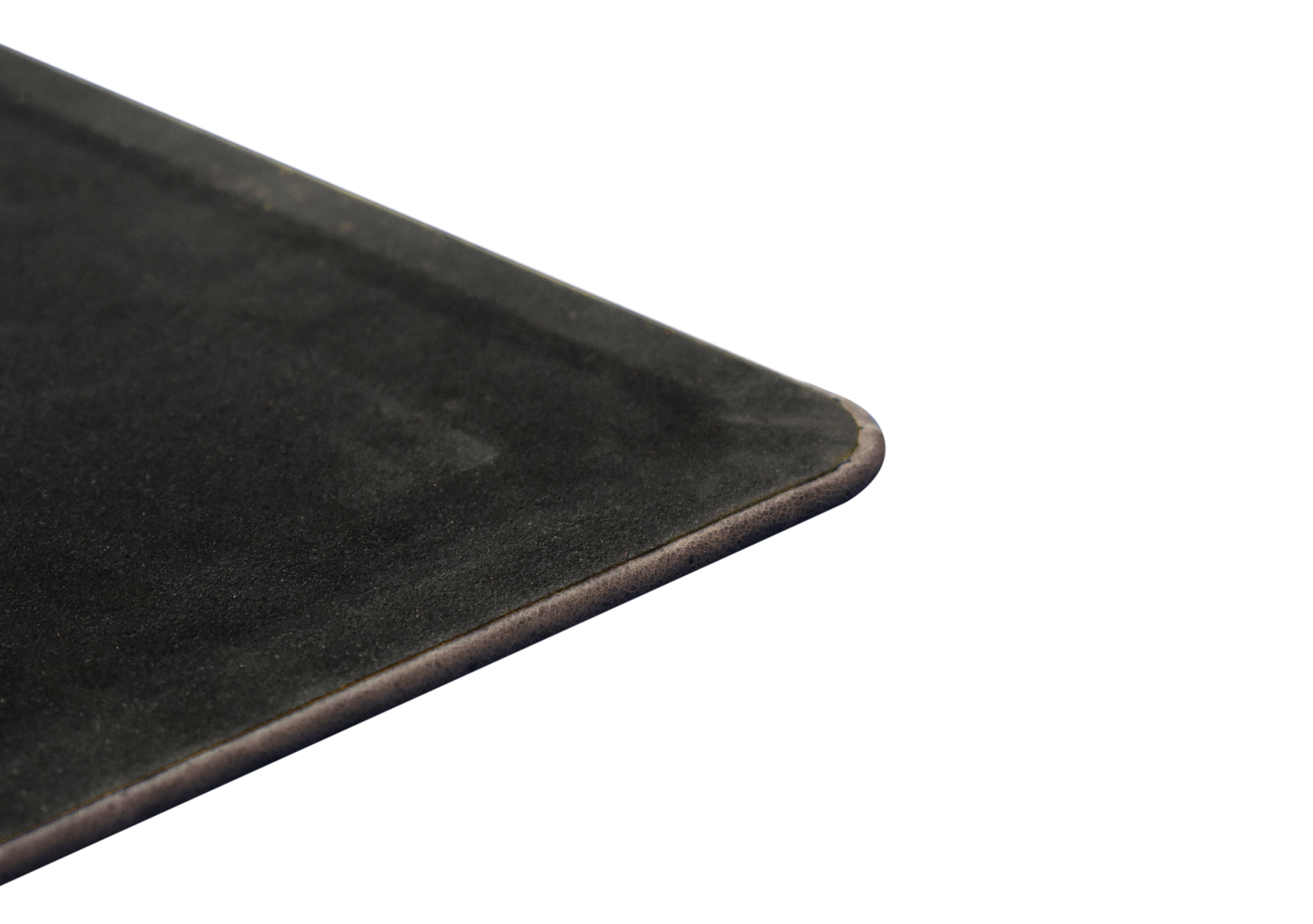 Antharcite Leather Desk Pad Distressed Genuine Leather