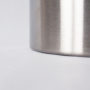 Brushed Stainless Steel Wastebasket