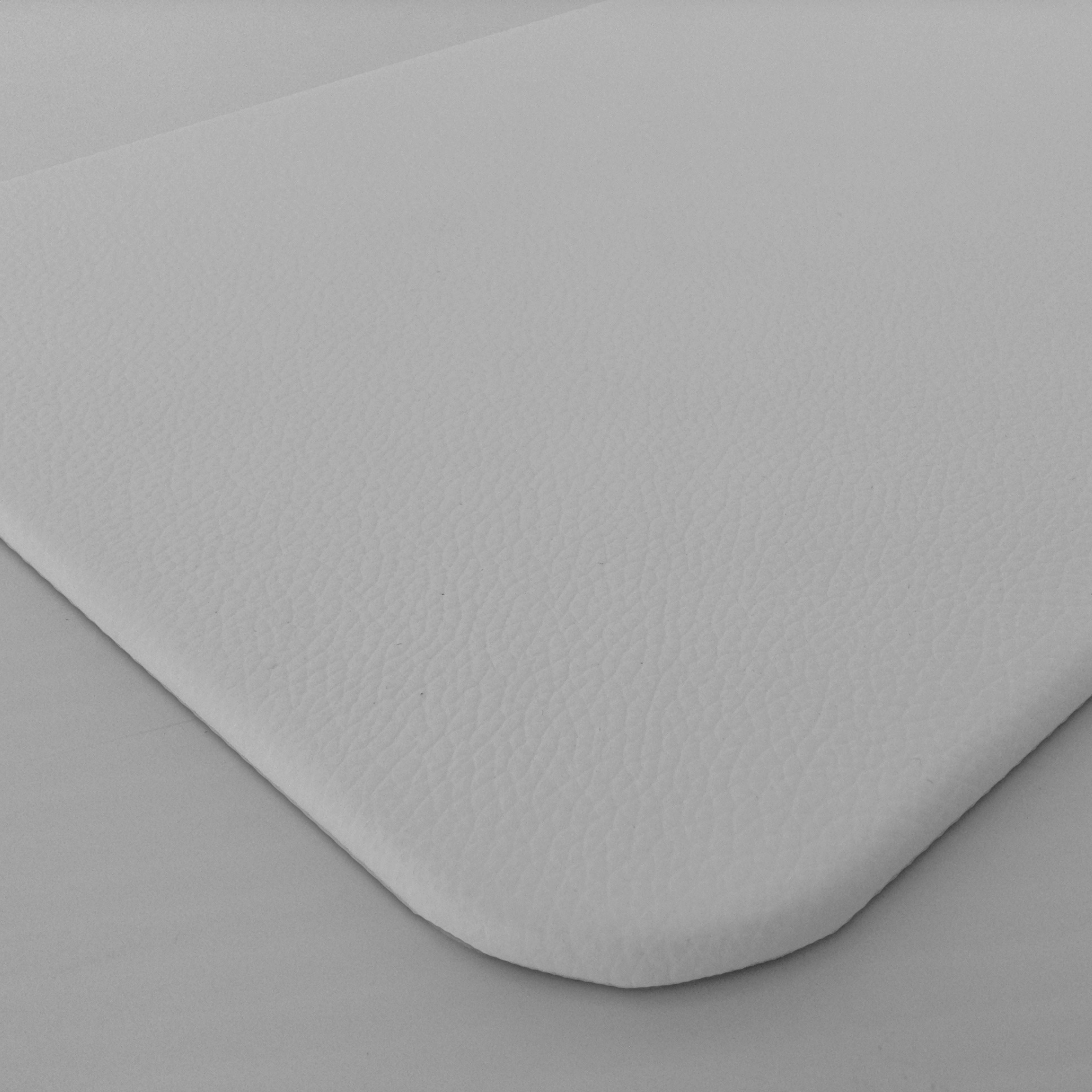 White Leather Desk Pad Genuine Leather Desktop Protection