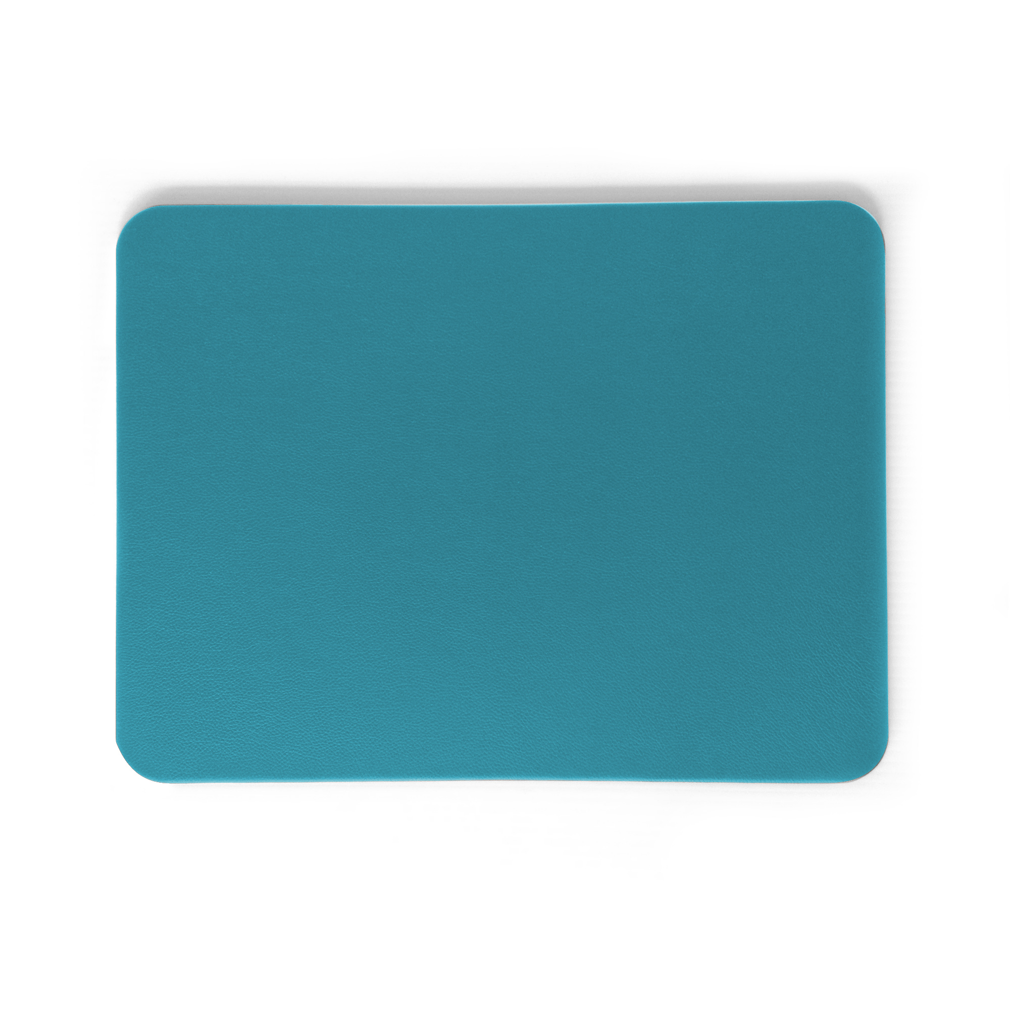 Classic Turquoise Leather Desk Pad