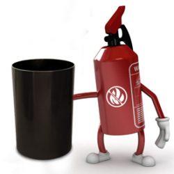 Fire Safe Trash Cans