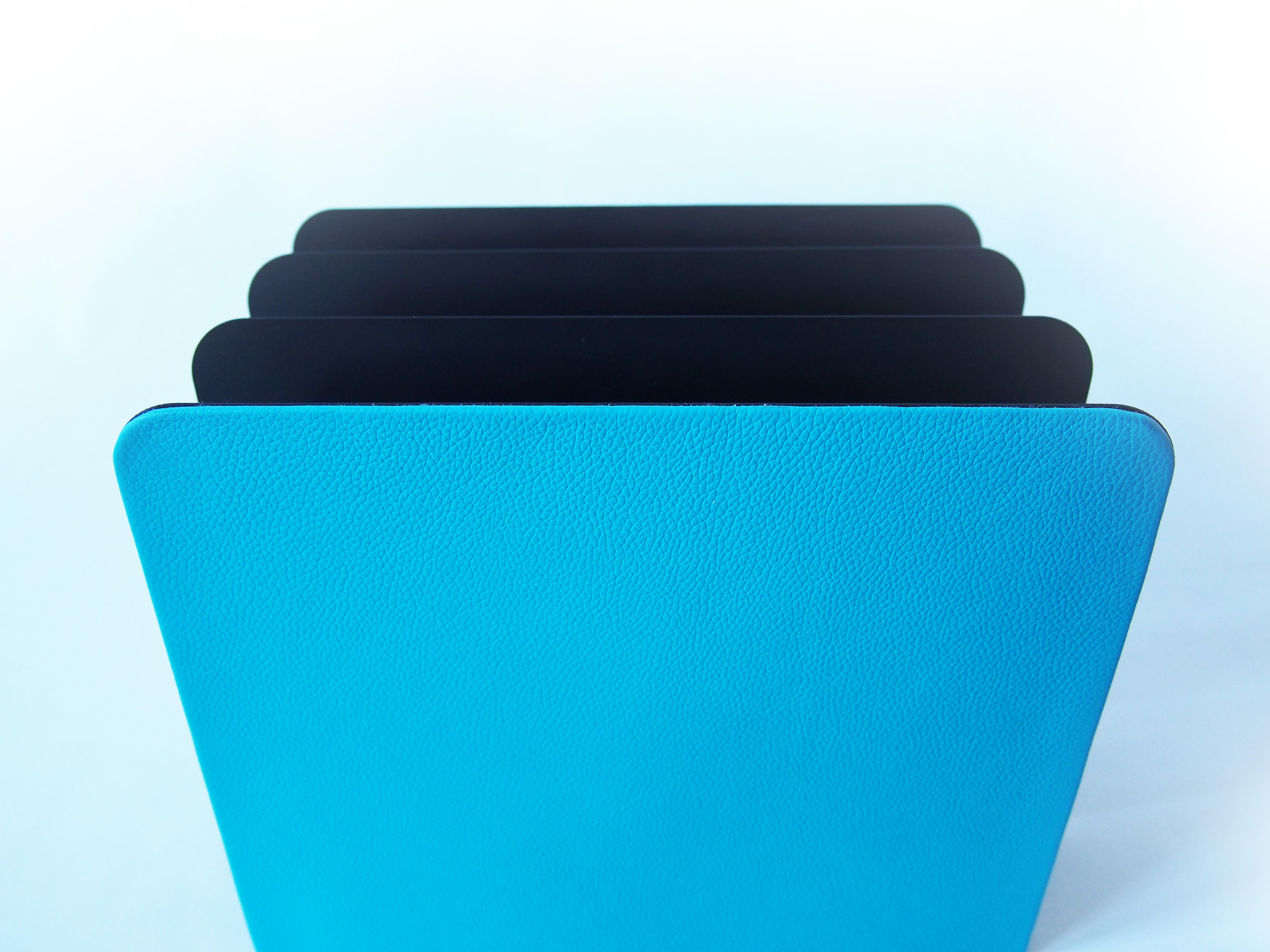 Leather Vertical File Mail Sorter Prestige Office
