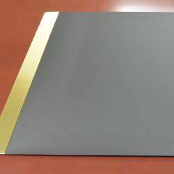 Metal Railed Desk Pads
