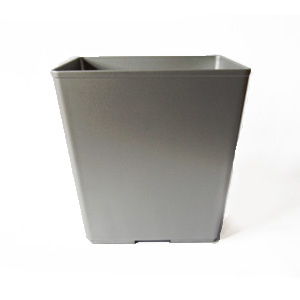 Gray Flame Retardant Wastebasket