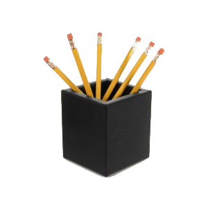 Leather Pencil Cup