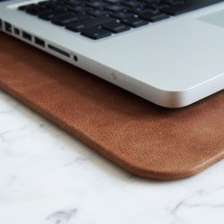 Distressed Leather Desk Pads