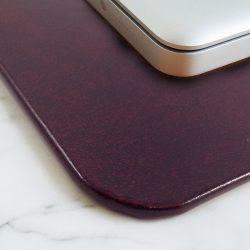 Glazed Leather Desk Pads