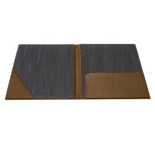 executive faux leather folder  professional pocket folder