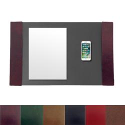 Glazed Leather Side Panels
