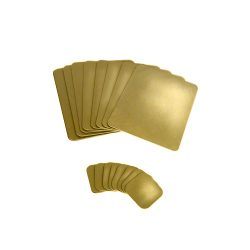 LightGold_Metallic-Deskpads-Coasters